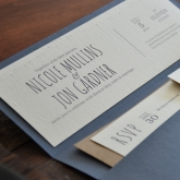 J + N Wedding Invites